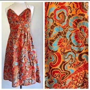 Moulinette Soeurs (Anthro) Halter Dress Size 6